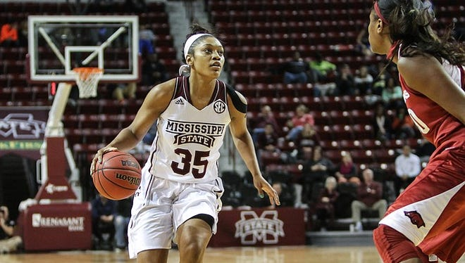 Mississippi State freshman Victoria Vivians earned freshman of the week honors.