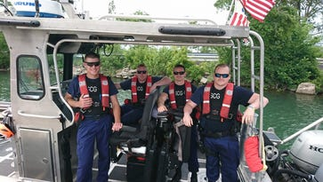 Coast Guard swoops into at-sea rescue of unconscious woman on Lake St. Clair