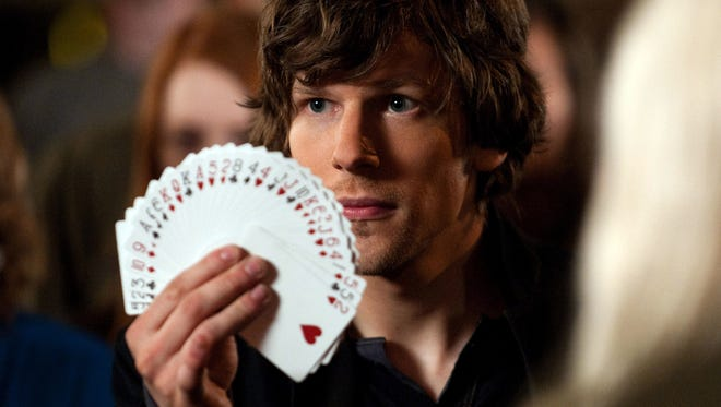 "Jesse Eisenberg appears in a scene from ""Now You See Me."""