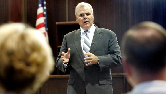 Former state Sen Ted Kanavas of Brookfield died Monday