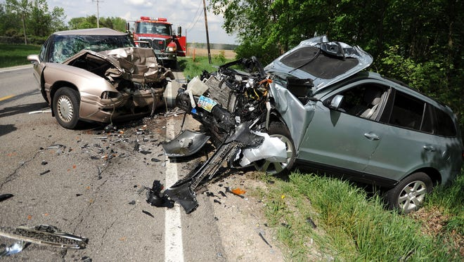 Mike Light was injured in a two-vehicle, head-on crash on Ohio 4, about a mile north of U.S. 23 and four miles north of Marion, in May 2013. The other driver was killed.