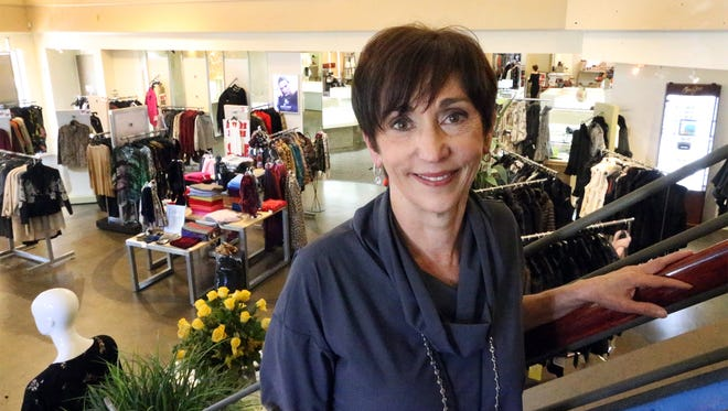 Nan Napier, owner of Tres Mariposas at 5857 N. Mesa St. in West El Paso, is closing the high-end women's clothing and jewelry store.
