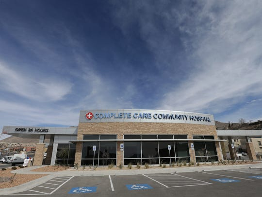 The $10 million Complete Care Community Hospital, which