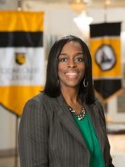 Cedar Crest College president Carmen Twillie Ambar