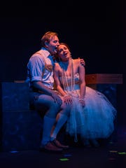 """Michael Penick and Kaleigh Rae Gamaché reunite in Third Avenue Playhouse's production of """"Candide."""""""
