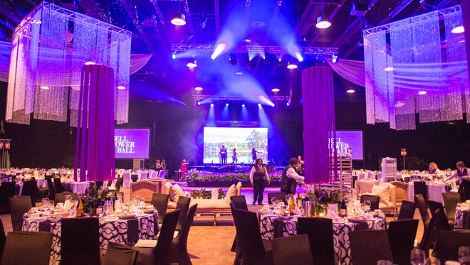 The 3rd annual Bell Tower Ball held at the TD Convention center to honor individuals who play a strong role supporting Furman University. Some of the award winners included Bear Rinehart, lead singer for NEEDTOBREATHE, the Mayer of Knoxville-Madeline Rogero and lawyer Frank Holleman.
