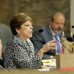 El Paso city Rep. Emma Acosta speaks during a recent City Council meeting.