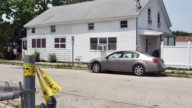 A shooting took place at 308 West Green Street Monday night in Millville, Tuesday, Jun. 23, 2015.