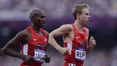 Galen Rupp, right, is in a doping investigation.