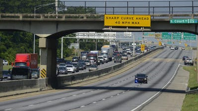 Repairs on Interstate 85 began Sunday night to include resurfacing, traffic striping and guardrail and barrier rail repair and installation.