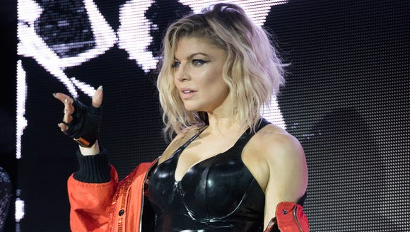 Fergie debuted her 'M.I.L.F.$' on Friday.