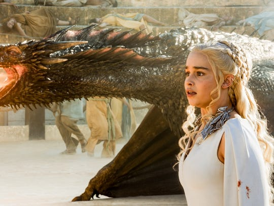 Emilia Clarke, aka Mother of Dragons, on HBO's 'Game