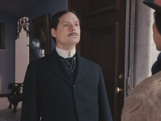 Michael Ian Black stars as Peepers the butler in the