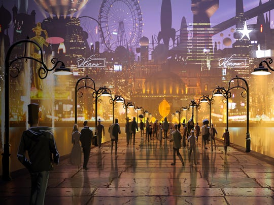 Concept art for Project Sansar