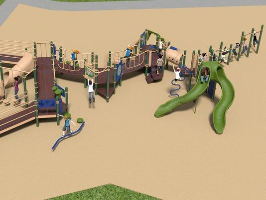 Carl Traeger inclusive playground