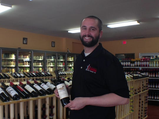 Zach Coleman owns Richard's Liquors in Wisconsin Rapids.