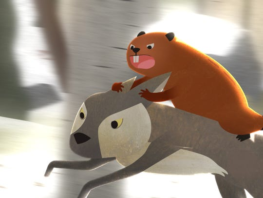 """A still from the short film """"DAM! The Story of Kit"""