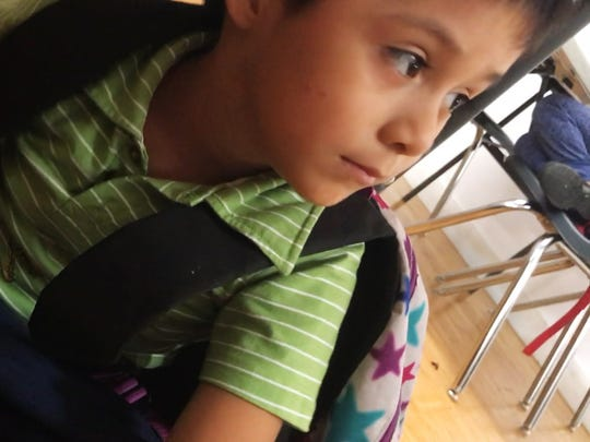 Leo Jeancarlo De Leon Lopez, 6, is seen from this frame grab from leaked video at the Cayuga Centers in New York. The Cayuga Centers is a facility that houses migrant children separated from their parents. Leo's mother was deported back to Guatemala after she and Leo illegally crossed into the United States. Leo remains in New York.
