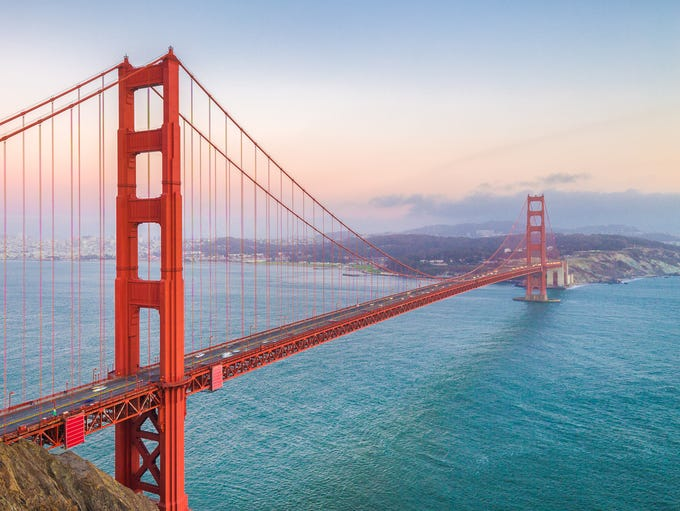 30. San Francisco: San Francisco is one of the most