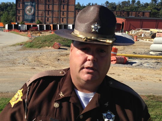 """Standing in front of the Buffalo Trace Distillery, Franklin County Sheriff Pat Melton said the case of the missing Pappy Van Winkle cases remains unsolved a year later despite the extensive investigation and a $10,000 reward. """"We're pretty sure we know what happened,"""" Melton said. """"It's being able to prove that is what the issue is."""""""