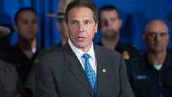 New York Gov. Andrew Cuomo announced Friday that the