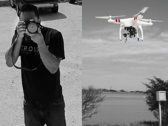 Marc Mendoza has been capturing local aerial scenes with his drone for the past year.