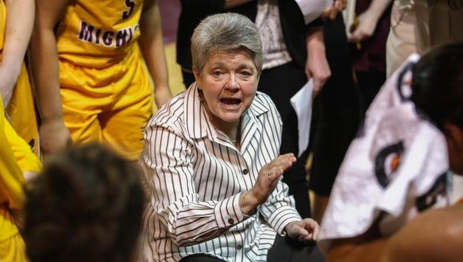 Central Michigan coach Sue Guevara is entering her 12th season as the Chippewas' coach.