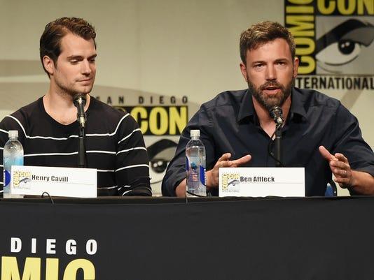 Affleck Debuts Batman V Superman Footage At Comic Con