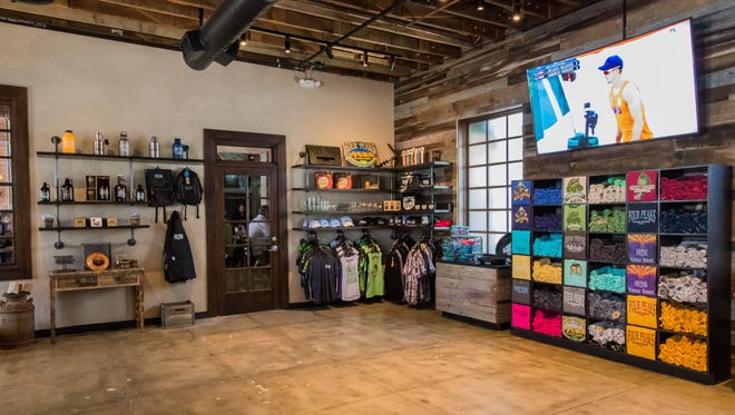 The main Four Peaks location in Tempe now has 2,000 square feet of additional space, which includes a retail shop.