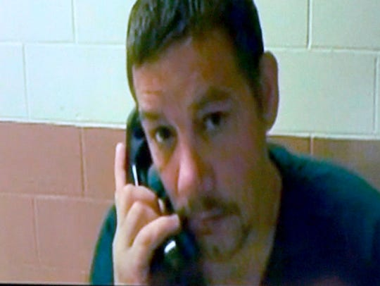 Anthony Michael Getchius, 43, of Newark,  is shown