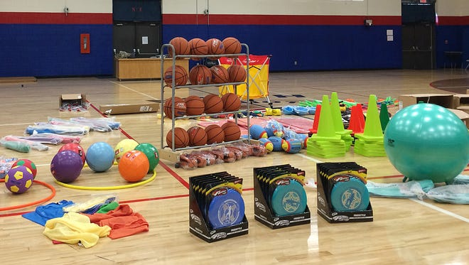 SPARK equipment gives PE teachers more options for engaging their students in fun physical activity.