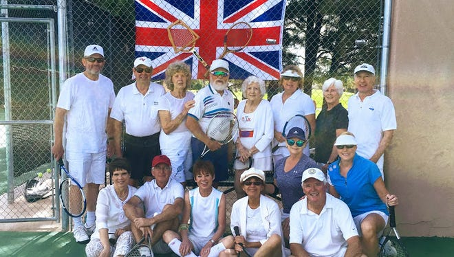 Beneath a Union Jack, Alto Lakes Tennis Association brought the spirit of the recent All-England Lawn Tennis Championships to Alto with their Breakfast at Wimbledon social and mixer.