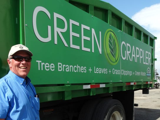 New Green Grappler will pick up Las Cruces yard waste curbside