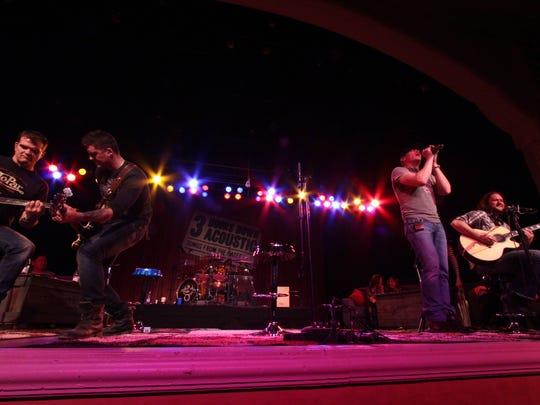 3 Doors Down plays an all-acoustic show Saturday at Barbara B. Mann Performing Arts Hall.