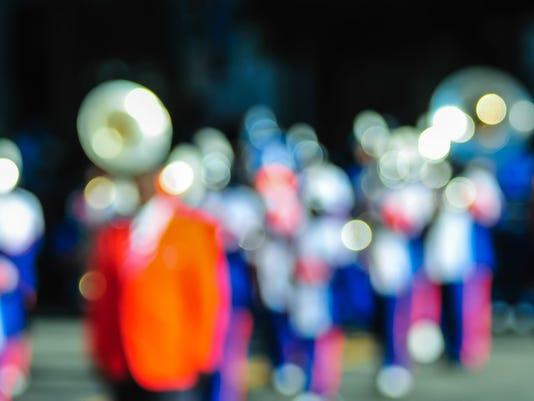 high school band tuba player