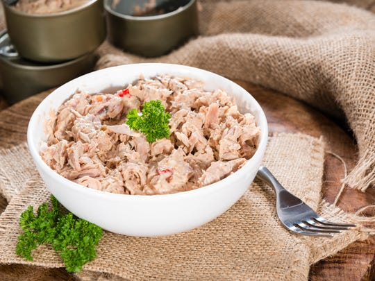 Canned tuna is good to have on hand.