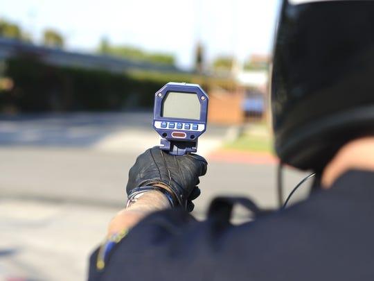 Radar speed enforcement