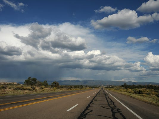 New Mexico US Highway 550