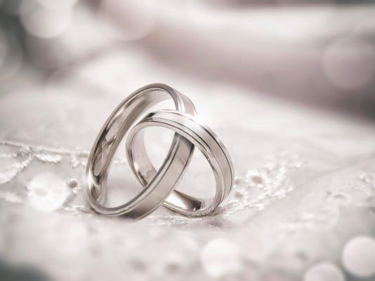 Linked Wedding Rings