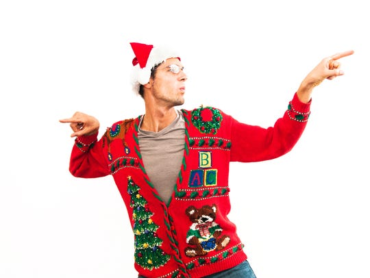 Bring your best ugly sweater and your dance moves to