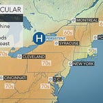 Spring weather is in the air for York County and the Mid-Atlantic region.