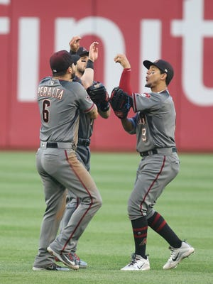 The Diamondbacks have a logjam in the outfield and it could become worse.