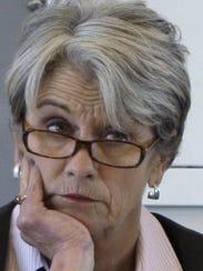 Kitty Rhoades, secretary of the Wisconsin Department