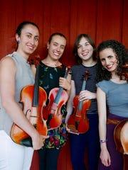 The Cardamom Quartet performs Sunday at the Ohavi Zedek Synagogue in Burlington.