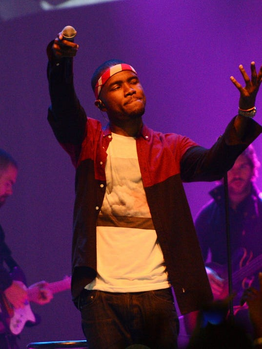 Frank Ocean In Concert -  New York, NY