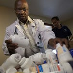 Delaware doctors sort, pack supplies for Nepal