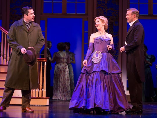 """As Max and Elsa, veterans Merwin Foard (left) and Teri Hansen play key roles in director Jack O'Brien's """"The Sound of Music."""" Ben Davis (right) is Captain von Trapp."""