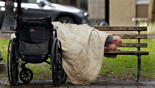 Homelessness has become an epidemic in Oregon cities including Portland, Salem, and Eugene.