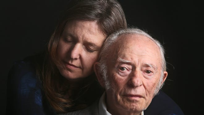 Jacob Breitstein, 93, and his daughter, Grace Bennett, 54, of Chappaqua