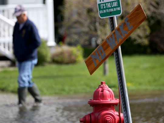 Greig Rd. in Sodus Point has been closed from lake water flooding. Many residence have sub pumps working round the clock.